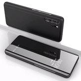 Bakeey Kapak Kaplama Ayna Pencere Darbeye Tam Kapak Koruyucu Kılıf Huawei P30 Pro için