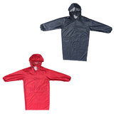 Hooded Raincoat Waterproof Lightweight Rain Jacket Outdoor Cape Coat Raincover