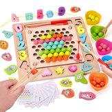 Jigsaw Puzzle Children's Puzzle Clip Color Ball Training Baby's Concentration Parent-child Toys