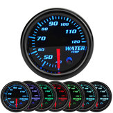 2 Inch 52mm Water Temperature Gauge Meter 7 Color LED