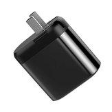 Vissko 18W QC3.0 PD Type C Adaptateur de chargeur USB à double charge rapide numérique pour iPhone XS 11 Pro Huawei P30 Pro Mate 30 Mi9 9Pro Oneplus 6T 7 Pro
