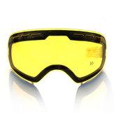 COPOZZ schiarente originale lente per occhiali da sci notte modello GOG-201 giallo lente per debole luce tinta tempo nuvoloso