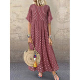 Original              Polka Dot Print Maxi Dress