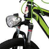 6 LED Sombrero Faros delanteros de bicicleta Luz delantera Retro Scooter eléctrico Faros delanteros Impermeable