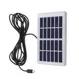 6V / 1.2W Polycrystal Solar Panel Panel de potencia portátil Solar con cable
