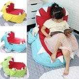 Grande gigante enorme tubarão bicho de pelúcia Soft brinquedo travesseiro sofá feijão Bolsa sofá preguiçoso