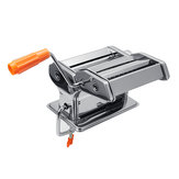 Hand Crank Stainless Steel Fresh Pasta Maker Roller Machine For Spaghetti Noodle Tools Kit