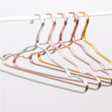 Cloth Hanger Durable Antideformation Aluminium Alloy Closet Adult Skirt Dress Clothing Towel Storage Rack Space Saver