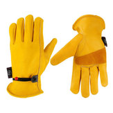 Heat Resistant Leather Heavy Duty Welding Glove Size S M L XL