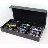 Gafas de sol con rejilla de 12 ranuras Gafas Gafas Pantalla Soporte