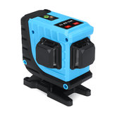 12 Lines 360° 3D Cross Lines Green Laser Level Self Leveling APP/Remote Control