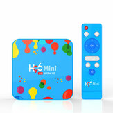 H96 Mini H6 Allwinner H6 4GB رام 128GB روم 5G WIFI bluetooth 4.0 أندرويد 9.0 4K 6K TV Box