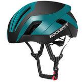 ROCKBROS EPS خوذة الدراجة العاكسة 3 في 1 MTB الطريق دراجة رجال السلامة ضوء خوذات ركوب