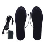 Desodorante transpirable cortable 40 ℃ -50 ℃ Plantilla de calefacción eléctrica USB Plantillas de invierno cálido Pie Calentador