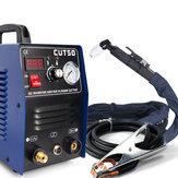 CT50 110V 50A Przecinarka plazmowa Maszyna do cięcia plazmowego z palnikiem do cięcia PT31 Akcesoria spawalnicze