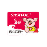 SASTFOE Year of the Pig Limited Edition U3 64GB TF Memory بطاقة