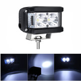 10V-30V 60W 3 Inch LED Work Lights Bar White Blue Combo Beam Driving Fog Lamp For Offroad Truck Boat