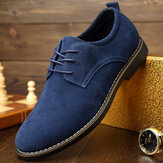 Puntschoen Casual Soft Suede Business Office Oxfords