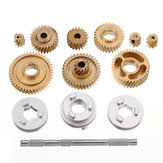 Metal Helical Gear Set for RC Tamiya 1/14 DIY Tractor Truck Gear Case Car Spare Parts