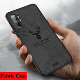 Bakeey Deer Luxury Canvas Cloth Anti-huella digital a prueba de golpes Protector Caso para Xiaomi Mi Note 10 / Xiaomi Mi CC9 PRO