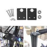 Suporte de fixação de rolamento de metal estabilizador de eixo Z duplo para montagem em 3D de parafuso de chumbo de impressora
