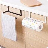 Suporte de toalha Pendurado Tecido de Rack de Armazenamento de Organizador de Papel em Rolo de Cozinha cabide