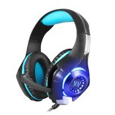 Beexcellent GM-1 Gaming Headset 3.5mm + USB Wired Breathing LED Backlight Headphone with Microphone for Computer Profession Gamer