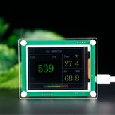 CO2 Carbon Dioxide Detector Module Air Quality Gas Sensor Tester Detector with 2.8Inch TFT Display Monitoring Home Office Car Tools