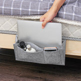 Hanging Bag Bedside Storage Organizer Bed Felt Pocket Sofa Armrest Phone Holder