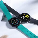 Bakeey H5 1.3 pollici Full Touch 2.5D schermo a colori Cuore tasso di pressione sanguigna O2 monitor meteo push musica controllo ultra-leggero orologio intelligente