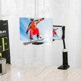 12'' Folding Mobile Phone Screen Magnifier 3D HD Screen Amplifier Stand Bracket