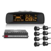 レーダーLCD車の駐車センサーモニターを逆転させるA10普遍的な目に見えるフルデジタルの距離表示