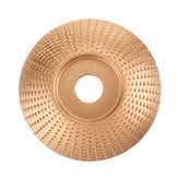 Wood Grinding Wheel Rotary Disc Sanding Wood Carving Disc Tool Abrasive Disc Shaping Tool for Angle Grinder