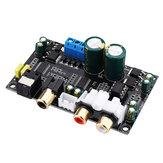 HiFi CS8416 CS4398 رقمي وحهة المستخدم بصري محوري صوت وحدة فك ترميز SPDIF DAC فك تشفير لوحة الدعم 24Bit 192 كيلو هرتز AC12V