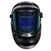 Upgrade Breitbild-Solar-Schweißhelm Auto Darkening Tig Mig Welder Mask Cap