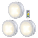 3 Stück 4000K LED Puck Light Chen unter Kabinett Light Counter Closet