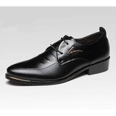 Men's Business Dress Formal Oxfords Flat Casual Shoes