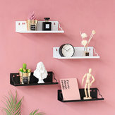 Floating Rack Shelf Wall Mount Book Storage Wooden Hanging DIY Display Decorations