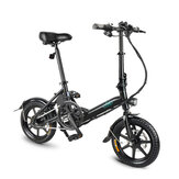 [EU Direct] FIIDO D3 36V 250W 7.8Ah 14 Inches Folding Moped Bicycle 25km/h Max 50KM Mileage Mini Electric Bike