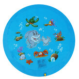 68inch Kid Swimming Air Mattress Water Splash Mat al aire libre Water Play Mat Wading Toy