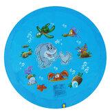 68inch Kid Natação Colchão de ar Mat respingo de água Ao ar livre Play Mat Wading Toy