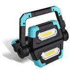 3000LM 500W LED COB Work Light USB Rechargeable Spotlight Waterproof Camping Light