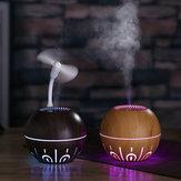 Bakeey 330ml Hava Nemlendirici Umidificador Aroma Essential Yağ Difüzör Hava Spreyi Aromaterapi Ev sis Yapıcı