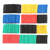 530Pcs Assorted Polyolefin Heat Shrink Tube Cable Sleeve Wrap Wire Set Insulated Shrinkable Tube
