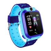 Z5 1.4in GPS Positionering HD Kamera Stemmemeddelelse SOS Anti-lost Chilren Smart Watch Phone LED Touch Screen Vandtæt lommelygte Uafhængig opkald Kids Smart Armbånd