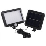 56 LED 50W Solar Street Light PIR Motion Sensor Security Lamp Outdoor Garden