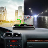 Bakeey universale 10W ricarica rapida Qi caricabatterie wireless per auto parabrezza specchio HUD Head Up Display supporto per telefono inferiore a 6,5 pollici per iPhone GPS DH42