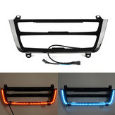 Illuminated LED Dual Color AC Radio Trim Retrofit For BMW 3 4 M3 M4 Series F30 F31 F32 F33 F34 F36 F80 F82 F83