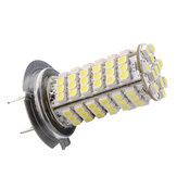 H7 3528 102 SMD LED Autokoplamp Koplampen Lamp Mistlamp DC 12V 12VK Wit