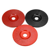 100mm Carbide Wood Shaping Disc Grinding Wheel Sanding Carving Disc Tools Abrasive Disc 16mm Bore